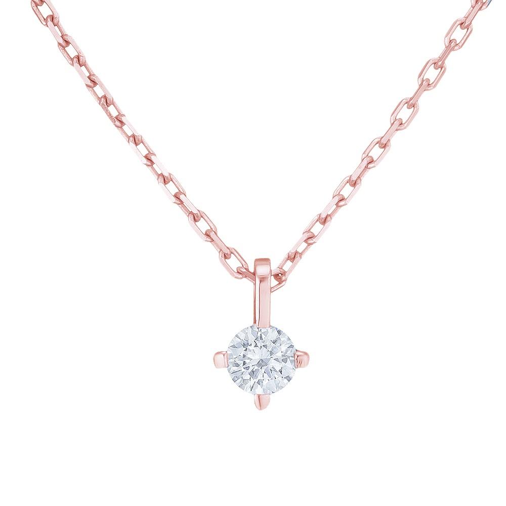 Купить Колье из красного золота с бриллиантом Dress code. Артикул: 710586220101 Киев | SOVA Jewels
