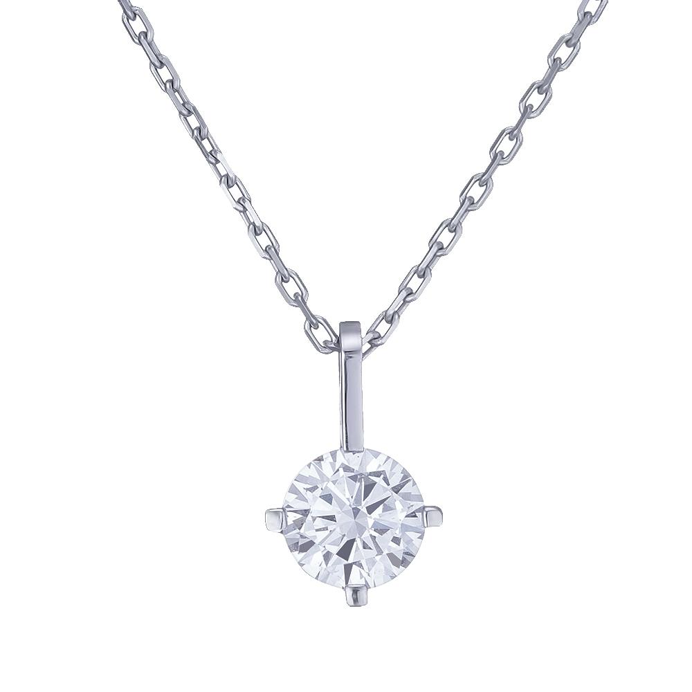 Купить Колье из белого золота с бриллиантом Dress code. Артикул: 710586120201 Киев | SOVA Jewels