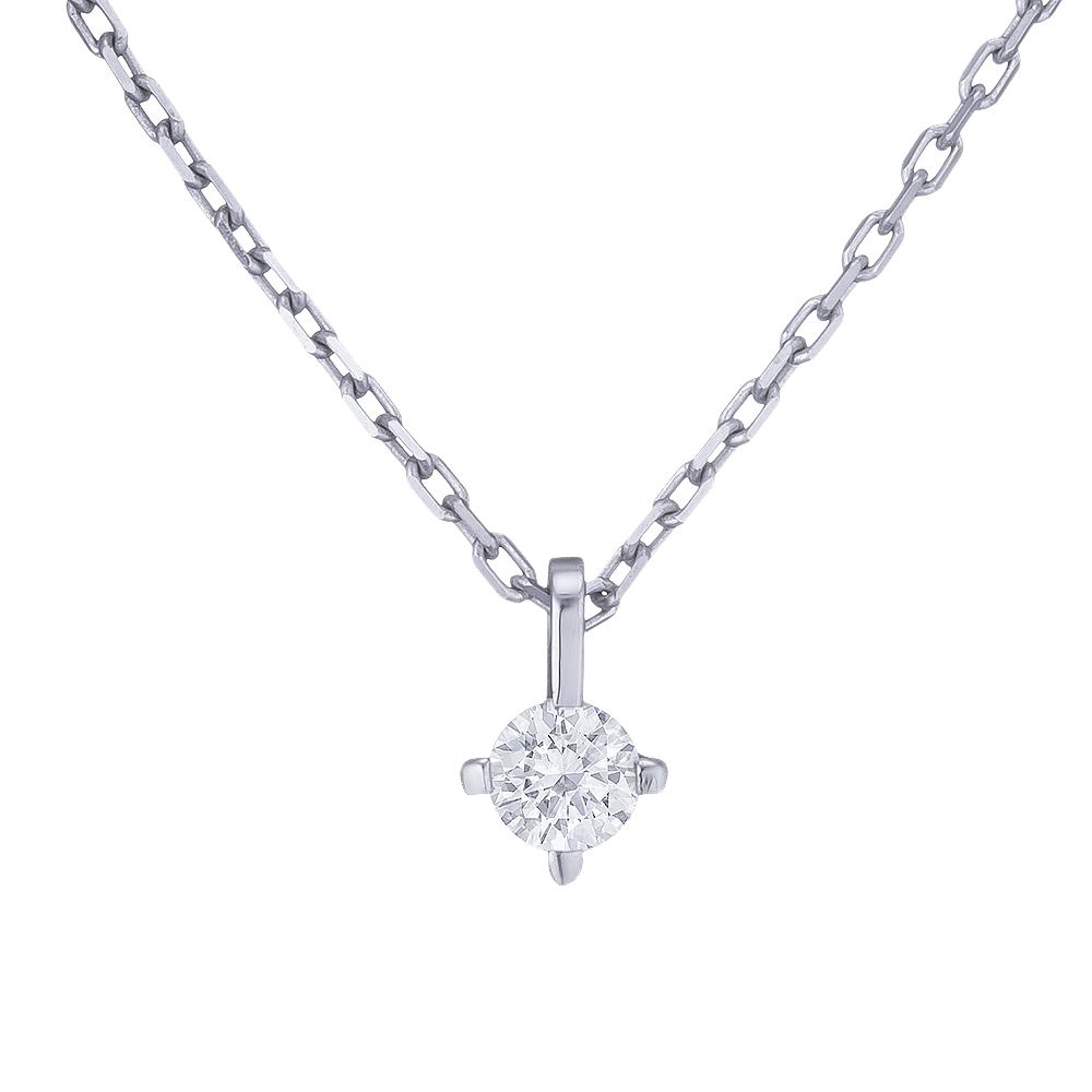 Купить Колье из белого золота с бриллиантом Dress code. Артикул: 710586220201 Киев | SOVA Jewels