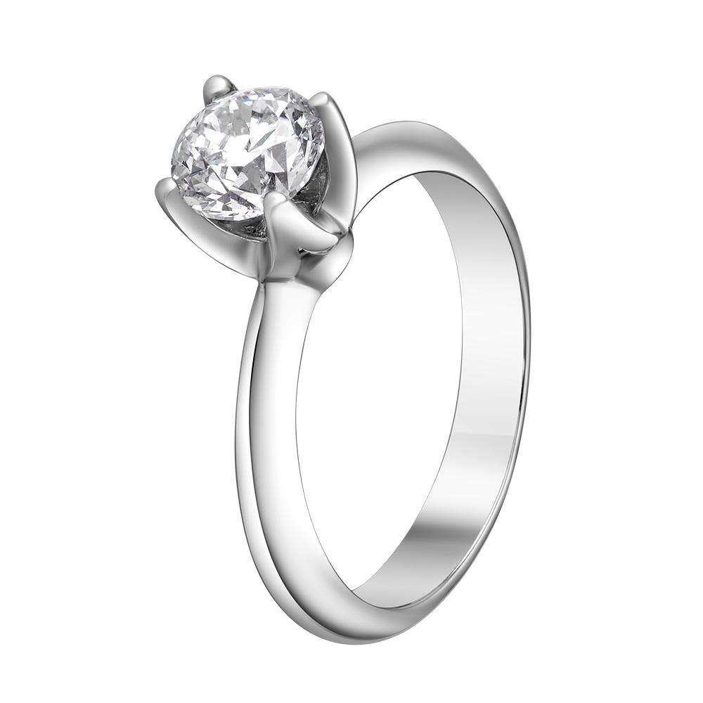 Кольцо из белого золота Dress code с бриллиантами. Артикул: 110223620201 - Ювелирный Дом SOVA Jewelry House